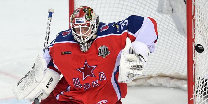 Голкипер Ларс Юханссон перешёл в СКА