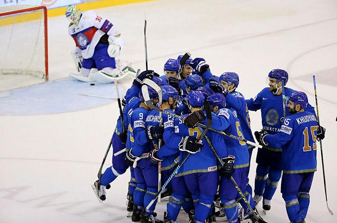 Сборная Казахстана на олимпийский квалификации в Осло
