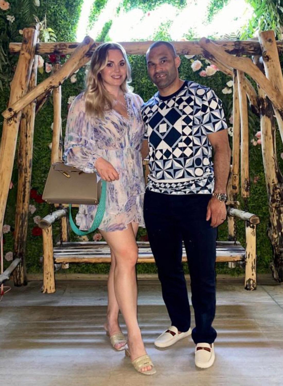 Найджел Доус и его жена