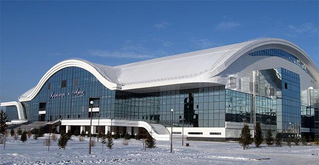 Ледовый дворец Караганды-Арена