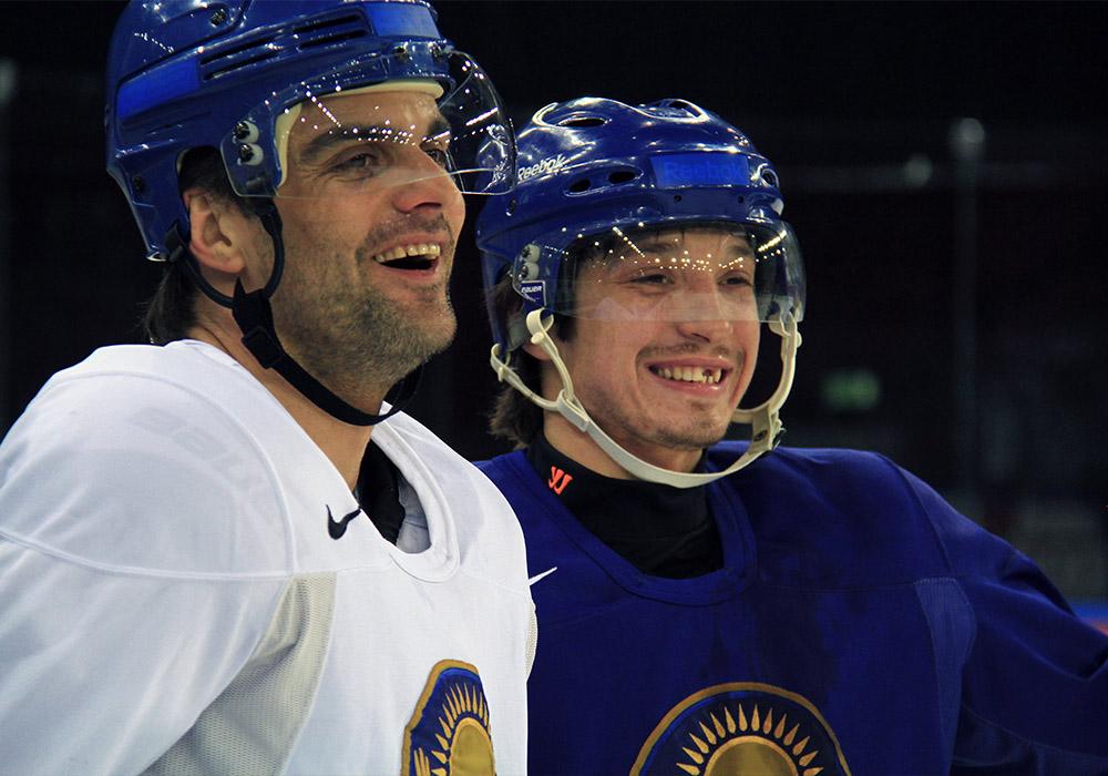 Евгений Блохин и Константин Пушкарёв
