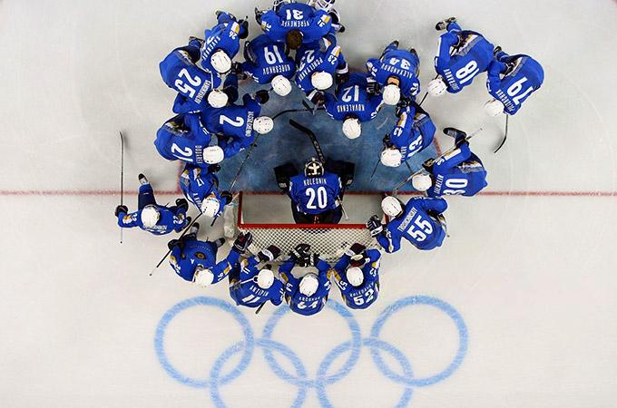 Сборная Казахстана на Олимпиаде в Турине