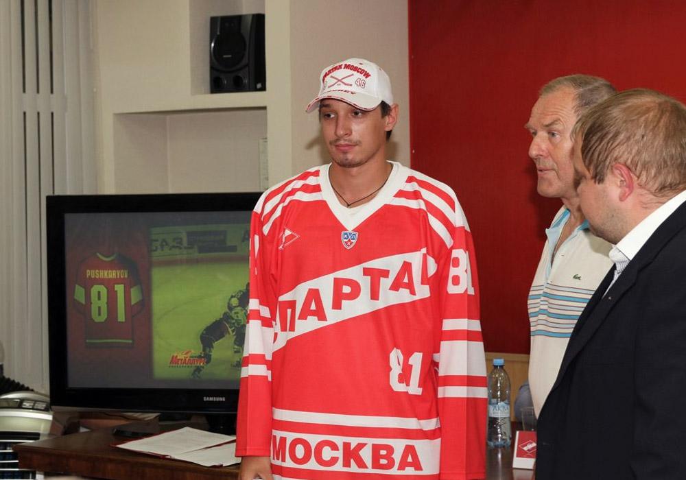 Константин Пушкарёв в Спартаке