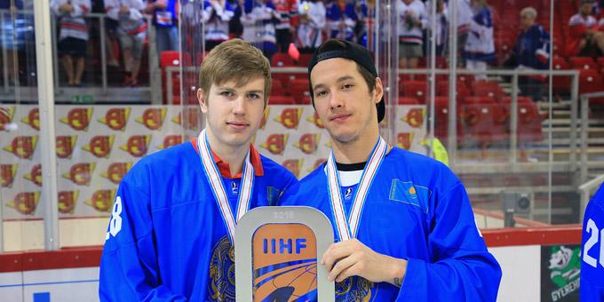 Валерий Орехов и Мадияр Ибрайбеков