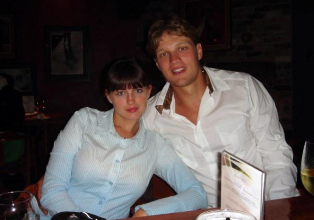Николай Антропов и его жена