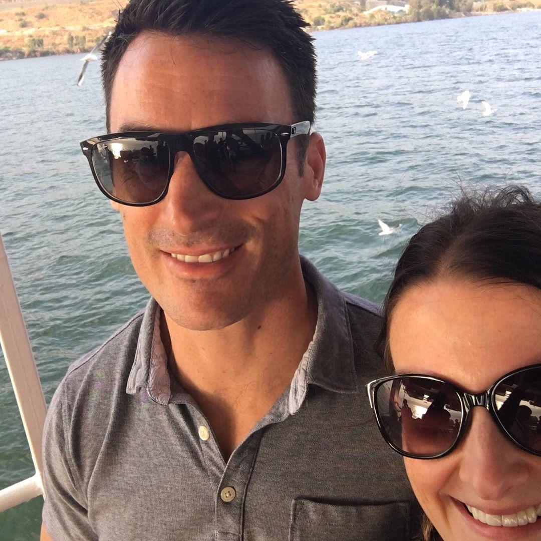 Брэндон Боченски с женой