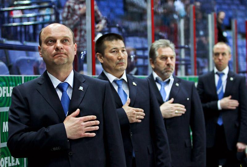 Андрей Шаянов, Галым Мамбеталиев, Александр Ахцигер и Андрей Соколов